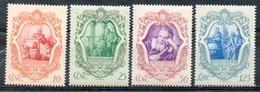 ITALIE (Royaume) - 1942- N° 443 à 446 - (Tricentenaire De La Mort De Galilée) - Nuovi