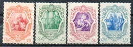 ITALIE (Royaume) - 1942- N° 443 à 446 - (Tricentenaire De La Mort De Galilée) - 1900-44 Victor Emmanuel III.