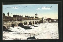 AK Andrinople, Nouveau Pont, Neue Brücke - Turquia