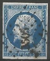 FRANCE - Oblitération Petits Chiffres LP 3505 VAUVERT (Gard) - Marcophily (detached Stamps)
