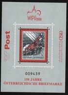 Austria 2000 Mini Sheet Issued To Celebrate International Stamp Exhibition In Vienna. - Blocks & Sheetlets & Panes