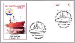 CAMPAÑA ANTARTICA 2019-20 - B.I.O. HESPERIDES. Cartagena, Murcia, 2019 - Spedizioni Antartiche