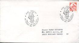 50281 Italia, Special Postmark 1997 Bari  Mediterranean Games  . Archery - Tiro Con L'Arco