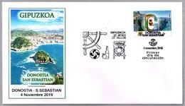 12 MESES - 12 SELLOS - GIPUZKOA. SPD/FDC Donostia-San Sebastian, 2019 - Otros