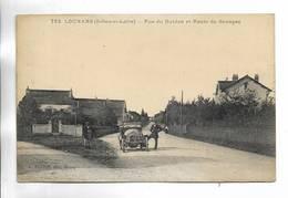 71 - LOUHANS ( Saône-et-Loire ) - Rue Du Guidon Et Route De Branges. Voiture Ancienne. - Louhans