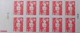 R1615/1498 - TYPE MARIANNE DE BRIAT - CARNET N°2630-C2 TIMBRES AUTOADHESIFS NEUFS** - Markenheftchen