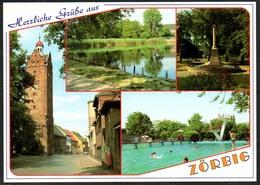 A5736 - TOP Zörbig Freibad - Verlag Bild Und Heimat Reichenbach - Qualitätskarte - Zörbig