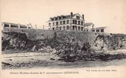 QUIBERON  - Colonie Maritime Scolaire  Du 7 éme  Arrondissement - Quiberon