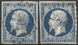 FRANCE - Oblitération Petits Chiffres LP 3515 VENDOME (Loir & Cher) - 1849-1876: Classic Period