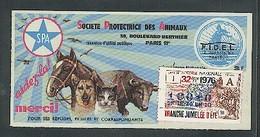 Billet De La Loterie Nationale Pour La SPA  Cheval - Taureau - Chien - Lottery Tickets