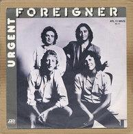 "7"" Single, Foreigner - Urgent - Rock"
