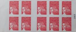 R1615/1504 - TYPE MARIANNE DE LUQUET - CARNET N°3419-C7 TIMBRES AUTOADHESIFS NEUFS** - Markenheftchen