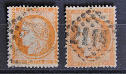 France1870 - Cérès Siège De Paris - N°38 - 40c Orange - 1870 Siege Of Paris