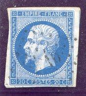 TIMBRE FRANCE N° 14A Ou B...pour Oblitérations, Teintes Ou Variétés. - 1853-1860 Napoleon III