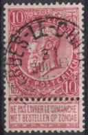 "93-  COB/OBP 58 (o)""Merbes-le-chateau"" +4 - 1893-1900 Schmaler Bart"