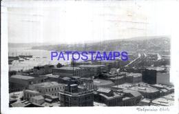 127705 CHILE VALPARAISO VISTA PARCIAL & SHIP POSTAL POSTCARD - Chile