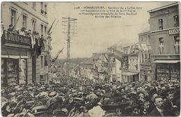 Belgique   Bonsecours Sovenir Du 04 Juillet 1910     Et 25 E Annee  De La Pose De La 1 E Pierre   Arrivee Des Pelerins - Belgique