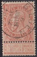 "96-  COB/OBP 57 (o)""Bilsen"" +4 - 1893-1900 Schmaler Bart"