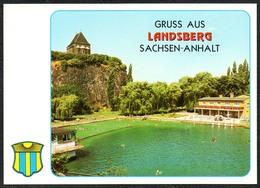 B9049 - TOP Landsberg Freibad Schwimmbad - Verlag Bild Und Heimat Reichenbach - Qualitätskarte - Deutschland