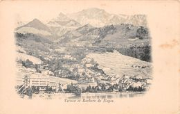 Vernex Et Rochers De Nayes - Naye - Montreux - VD Waadt