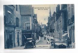 45 - MONTARGIS ( Loiret ) - Rue Du Loing. Beau Plan. - Montargis