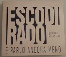 ADRIANO CELENTANO - ESCO DI RADO E PARLO ANCORA MENO - CD - Ottime Condizioni - Altri - Musica Italiana