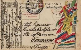 Cartolina In Franchigia Del 3-9-1918 - 1900-44 Victor Emmanuel III