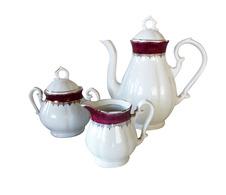 Service à Thé Ou Café En Porcelaine De Limoges - Ceramics & Pottery