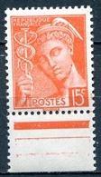 FRANCE /type MERCURE  . N° YT : 408   NEUF** - 1944-45 Arco Di Trionfo