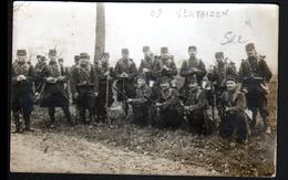 63, Carte Photo D'un Retour De Manoeuvres à Vertaizon - France