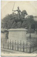 PARIS Statue De Jeanne D'Arc Par Paul Dubois - Other Monuments