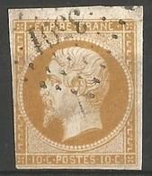 FRANCE - Oblitération Petits Chiffres LP 3591 LA VILLE-AUX-CLERCS (Loir & Cher) - 1849-1876: Classic Period