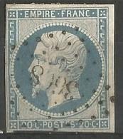 FRANCE - Oblitération Petits Chiffres LP 3608 VILLEFRANCHE-DE-LAURA (Haute-Garonne) - 1849-1876: Période Classique