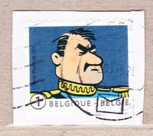 2014 Nr 4414 Gestempeld Op Fragment,zegel Uit Boekje B146.Kuifje / Tintin. - België