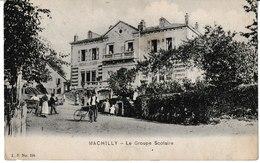 Haute Savoie MACHILLY Le Groupe Scolaire (animation) 1919 - France