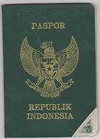 INDONESIA Passport 1988 INDONESIE Passeport - Reisepaß – Revenues/Fiscaux - Documenti Storici