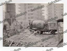 Edilizia Cantiere Edile Geometra Ingegnere Architetto Mestieri Photo Foto Autobetoniera Cement Mixer Concrete Truck Car - Luoghi