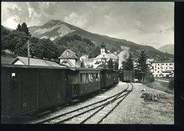 RB384VAL GARDENA ORTISEI  - STAZIONE FERROVIARIA - Stazioni Con Treni