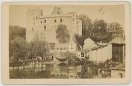 CDV. Le Château De Clisson Par Trésorier, Photographe à Toulon. 18 Août 1874. - Photos