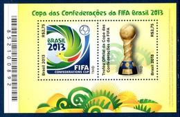 Bresil Brasil Bf 158 Coupe Des Confédérations FIFA - Football