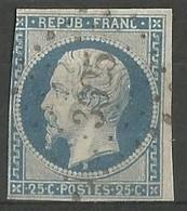 FRANCE - Oblitération Petits Chiffres LP 3625 VILLENEUVE-St-GEORGES (Val De Marne) - 1849-1876: Période Classique
