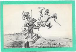 GUERRE 14/18 - Humoristique - Coup De Pied Au C.l De Guilaume (le Grand Couronné De Prusse Reçu Par Celui De Nancy - Weltkrieg 1914-18