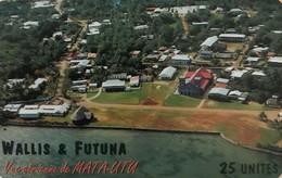 """WALLIS-et-FUTUNA - Vue Aérienne De """" Mata Utu """" - Wallis Und Futuna"""