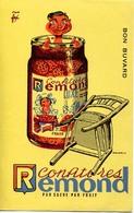 Buvard Publicitaire : Confitures Rémond - Cake & Candy