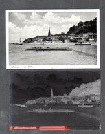 Y14851/ Lauenburg Elbe Fähre  AK + Negativ Ca.1940 - Germania