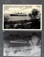 Y14843/ Wedel - Schulau  Dampfer AK + Negativ Ca.1950 - Germania