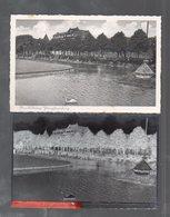 Y14829/ Rendsburg Jungfernstieg  AK + Negativ Ca.1935 - Rendsburg