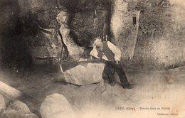 CREIL - Ermite Dans Sa Grotte - Creil