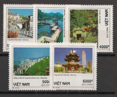 Vietnam - 1995 - N°Yv. 1585 à 1589 - Paysages - Neuf Luxe ** / MNH / Postfrisch - Vietnam
