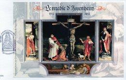 Enveloppe  Premier Jour Retable D'Issenheim Saint Antoine;Saint Augustin;Saint Jérôme - 2010-....